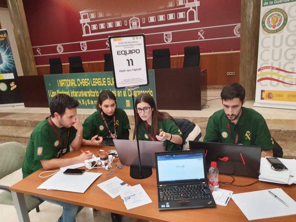 Concursantes de la I edición de la National Cyberleague