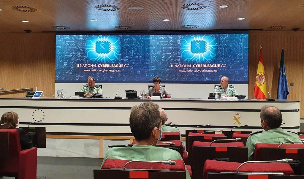 Acto de presentación de la II National Cyber League GC