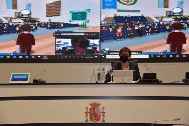 Directora general de la Guardia Civil clausura la II National Cyber League GC