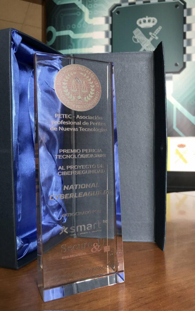 Premio PETEC Proyecto Ciberseguirdad